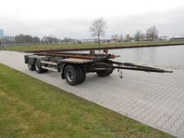 container chassis aanhanger Burg Bennismarrel