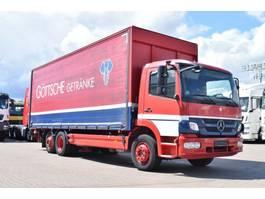overige vrachtwagens Mercedes-Benz Atego 1529 /2029 Plane/Getränke LBW 2t. Lenkachse 2011