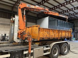 overige containers Marrel Hydrauliek CONTAINER + CRANE HIAB 775 - KRAN / GRUE / GRUA / KRAAN 1991