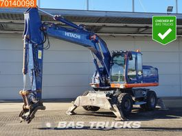wielgraafmachine Hitachi ZX210W-3 GOOD TYRES - ALL FUNCTIONS 2010