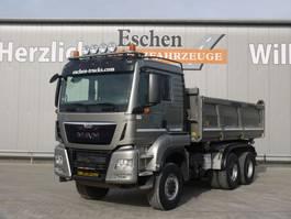 kipper vrachtwagen > 7.5 t MAN TGS 26 6x6 3 Seitenkipper 2015