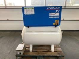 compressor Grassair K1 Silent 1.5 kW 160 L / min 8 Bar Olievrije Schroefcompessor met ketel 2013