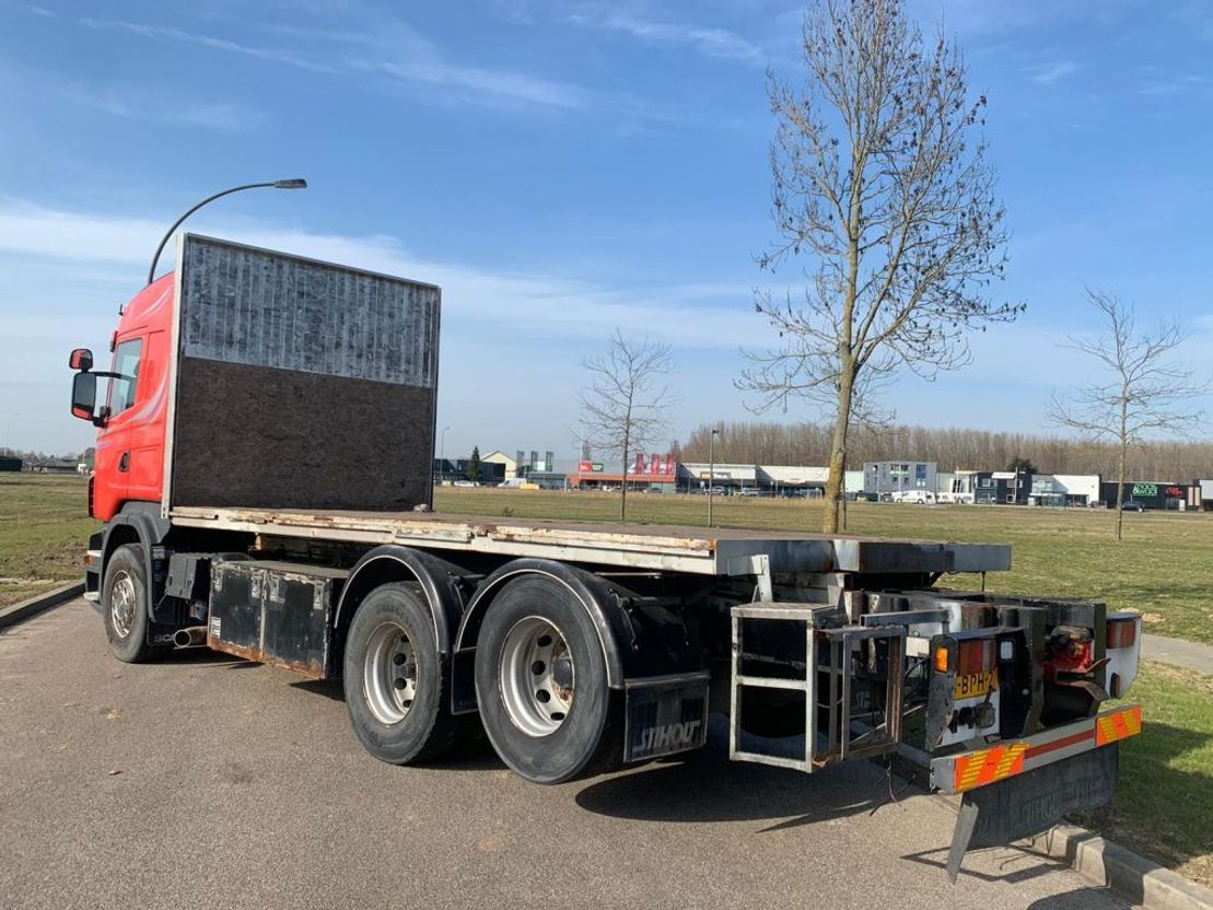platform vrachtwagen Scania R580-V8 Scania R580 6x2 2006