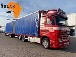 open laadbak vrachtwagen Mercedes-Benz Actros 2645 6X2 Combination (+ GS MEPPEL trailer) FOR ->: Pluimvee / Geflügel / Chicken TRANPORT 2012