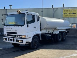 tankwagen vrachtwagen Mitsubishi Fuso FV515MCL 6x4 Water Tank Truck 17.000L Full Spring Good Condition 2008