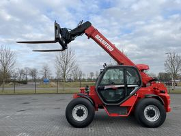 starre verreiker Manitou MHT 860 L / AIRCO / HYDR. FORKS / TOP CONDITION 2011