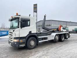 bakwagen vrachtwagen Scania P380 8x2 2006