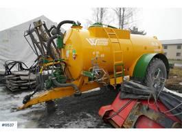 standaard tractor landbouw Western Fabrications WF 8LS vakum wagon 2016