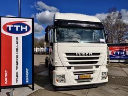 chassis cabine vrachtwagen Iveco AS260S42Y/FP-GV Stralis 6x2   Eurotronic + Intarder   Euro5   NL Truck 2008