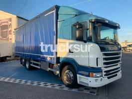 huifzeil vrachtwagen Scania G400 2013