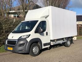 gesloten bestelwagen Peugeot Boxer Bakwagen + laadklep 160 pk Euro 6 2017