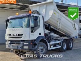 kipper vrachtwagen > 7.5 t Iveco Trakker 260 AD260T33 6X4 Manual Big-Axle Steelsuspension Euro 5 2009