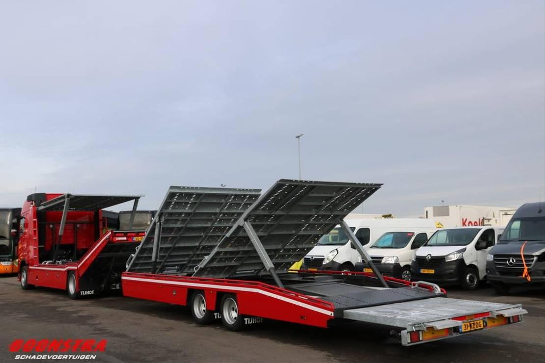autotransporter vrachtwagen Volvo FH 420 Tijhof 6-lader Lier Doppelstock NIEUW!!! . 2021