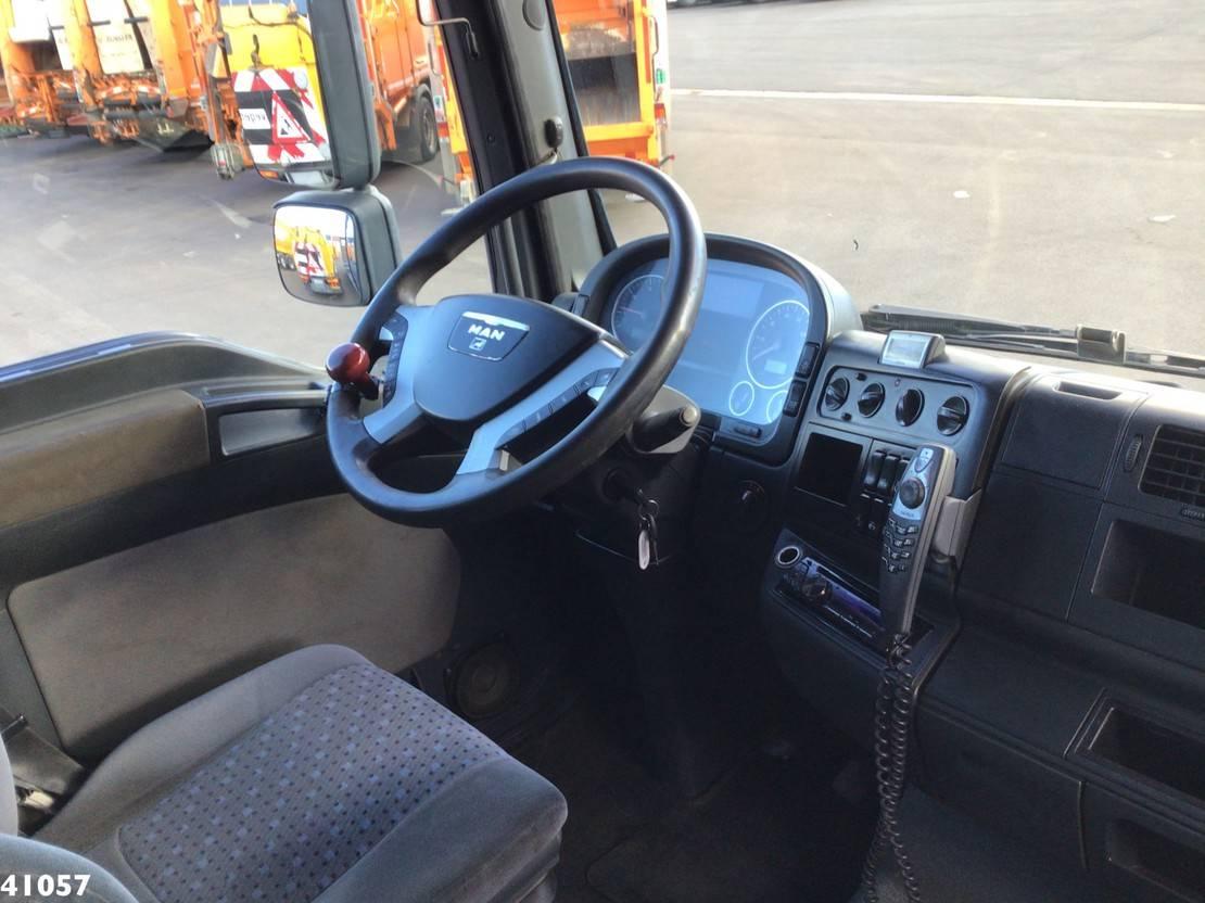 autotransporter vrachtwagen MAN TGA 26 Euro 5 Autotransporter met oprijplaten 2007
