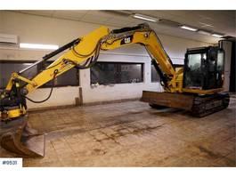 rupsgraafmachine Caterpillar 308E 2CR w/ rotor tilt and 2 buckets 2014