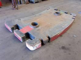 overige equipment onderdeel Grove GMK 5130-1/2 counterweight 5.0 ton