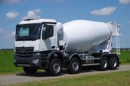 betonmixer vrachtwagen Mercedes-Benz Arocs 4142-B 8x4 - Euro 6 - 12m3 Mulder Concrete Mixer - Wierda Hybrid PTO - NEW