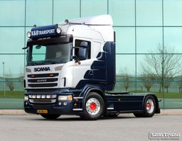 standaard trekker Scania R440 4X2 HIGHLINE RETARDER 2 TANKS CUSTOM INTERIOR 2012
