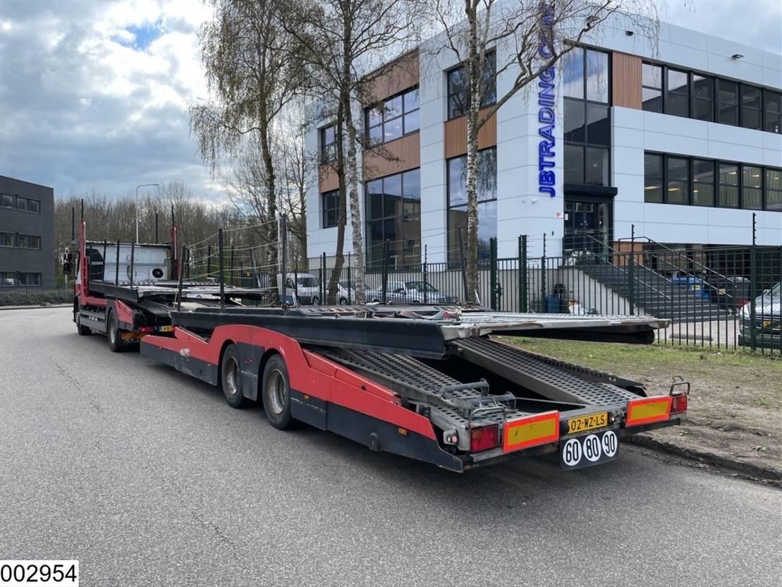 autotransporter vrachtwagen Renault Premium 430 Dxi EURO 5, Lohr, Multilohr, Retarder, Combi 2011