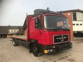 platform vrachtwagen MAN 14.222, Euro 2, Full Steel, Long Bucket 1996