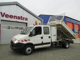 kipper bedrijfswagen Iveco Daily 70C17 3-Seiten Kipper Kran Netto €14950,= 2013
