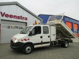 kipper bedrijfswagen Iveco Daily 70C17 3.0HPI Kipper Kran Netto €14950,= 2013