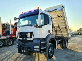 kipper vrachtwagen > 7.5 t MAN TGS 18.440 4x4 3-Seiten-Kipper Winterdienst 2008