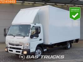 bakwagen vrachtwagen Mitsubishi Canter Fuso 7C18 4X2 Manual Ladebordwand Euro 6 2016