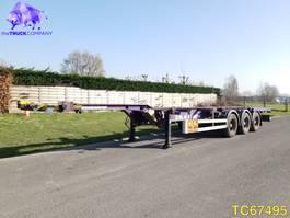 container chassis oplegger KAESSBOHRER SHG.S Container Transport 2008