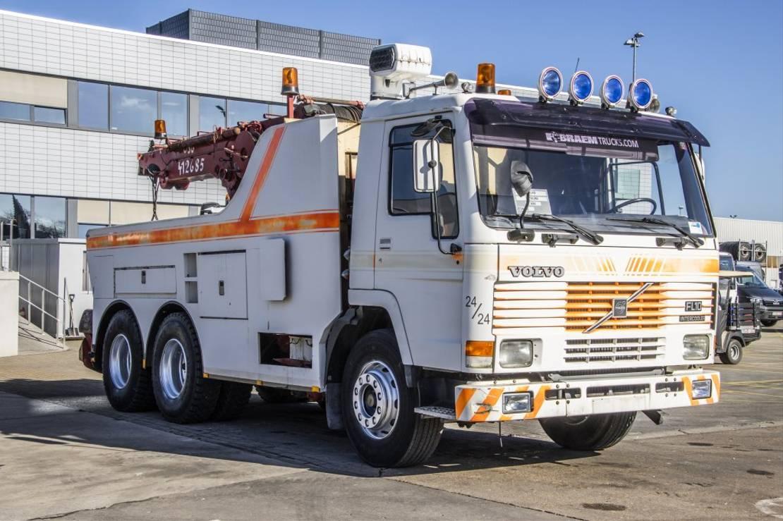 takelwagen-bergingswagen-vrachtwagen Volvo 10.260 - 6x4 1986