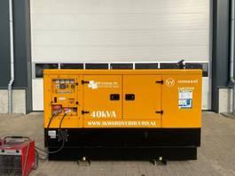 generator Iveco Immesol Mecc Alte Spa 40 kVA Supersilent generatorset as New ! 2010