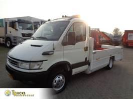 platform bedrijfswagen Iveco Daily 40C17 + Manual + Palfinger Crane 2005