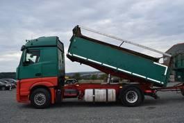 kipper vrachtwagen > 7.5 t Mercedes-Benz Actros 1845 Getreidekipper 3-Seiten Kempf EURO6 2013