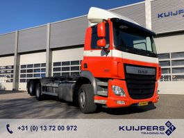 containersysteem vrachtwagen DAF CF 410 / 6x2 Liftas / NCH Kabelsysteem / Cable system / APK TUV 07-21 2016