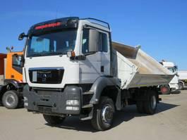 kipper vrachtwagen > 7.5 t MAN TGS 18 4x4 BB 2-Achs Allradkipper Schalter, 2012
