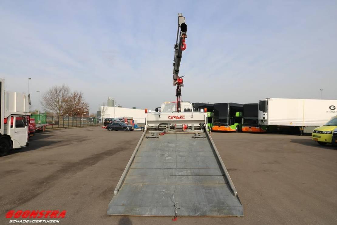 takelwagen-bergingswagen-vrachtwagen Iveco EuroCargo 160 160E25 Omars S6.2000 5t. Fassi Kran Bril F120B 2018