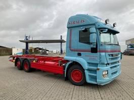 wissellaadbaksysteem vrachtwagen Iveco IVECO Stralis veksellad fuld luft Stralis 260E42 6x2/4 2012