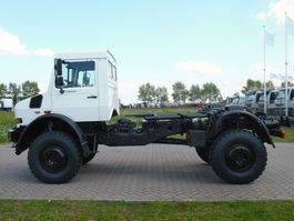 chassis cabine vrachtwagen Mercedes-Benz UNIMOG U5000 4x4 - Euro 3 - Chassis Cabine - NEW
