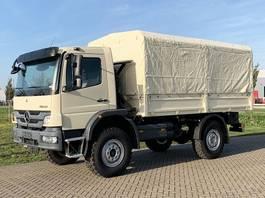 huifzeil vrachtwagen Mercedes-Benz Atego 1317-A 4x4 - Euro 2 - Personnel Carrier - NEW