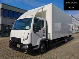 bakwagen vrachtwagen Renault D 7.5 / Ladebordwand