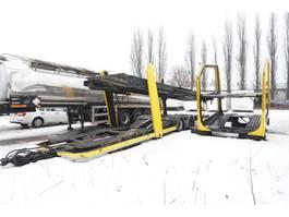 autotransporter vrachtwagen Lohr Body + trailer set , for 8-12 cars 2008
