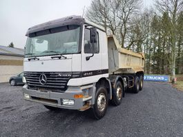 kipper vrachtwagen > 7.5 t Mercedes-Benz Actros 4140 8x4 spring suspension Manual gearbox big axles!!