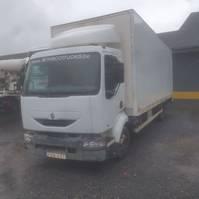 bakwagen vrachtwagen Renault midlium 210 2001