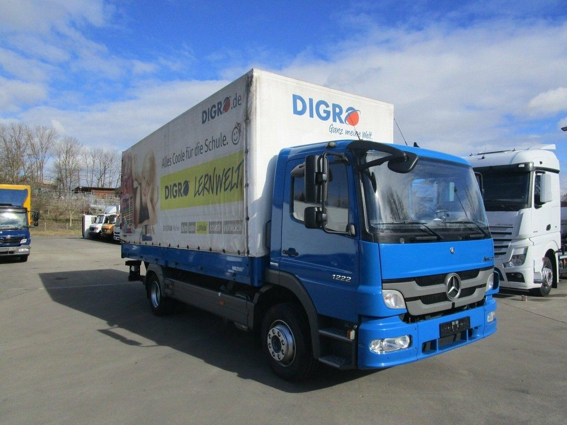 platform vrachtwagen Mercedes-Benz Atego 1222 III L Pritsche/Pl. 6,10 m LBW 1 to. 2012
