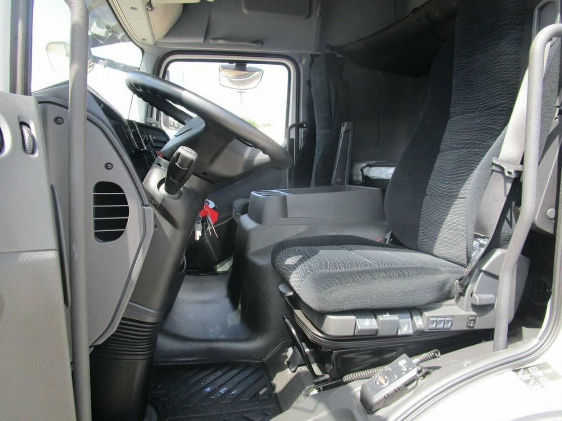 platform vrachtwagen Mercedes-Benz Atego 818 IV L Schlafkabine Pri/Pl. 6,1m EURO 6 2014