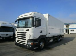 bakwagen vrachtwagen Scania Getränkekoffer ORTEN*Lenkachse*HIGHLINE 2013