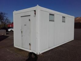 kantoor woonunit container Abarth toilet douche unit