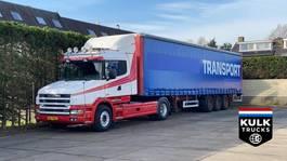 standaard trekker Scania 144 L 530 TORPEDO / RETARDER PTO / TOP CONDITION WB 4700 2000