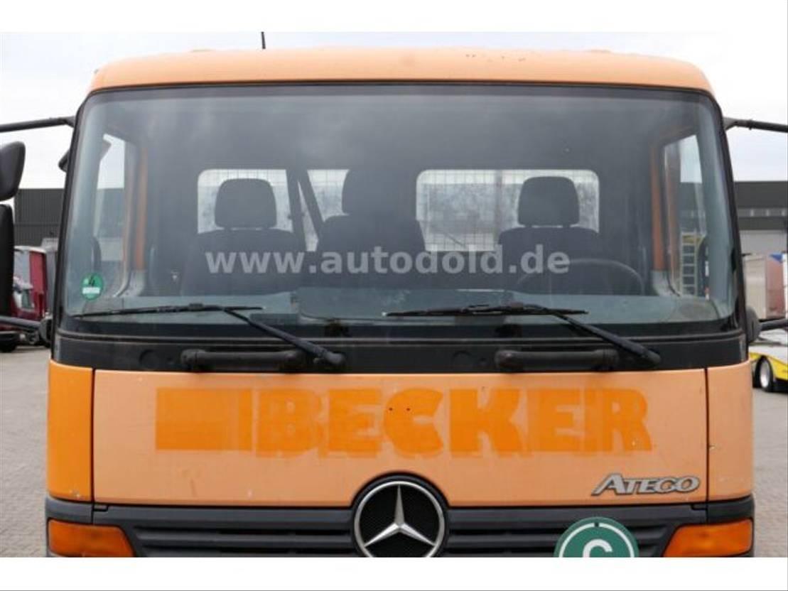 platform vrachtwagen Mercedes-Benz Atego 815 Pritsche Getriebeschaden anal. Tacho 1998
