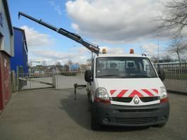 platform bedrijfswagen Renault Master 2.5DCI Kran Hiab Netto €7950,= 2008
